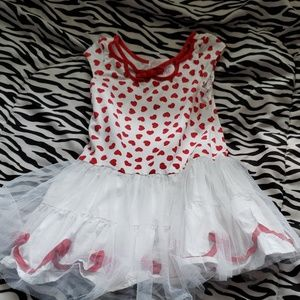 Girls heart dress